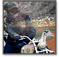 iron and resin's hooligan derby motorcycle race ventura, california